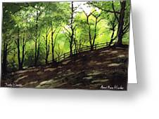 Judy Woods Greeting Card