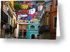Juegos In Guanajuato Greeting Card
