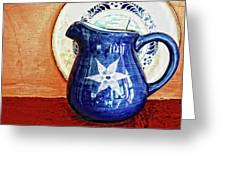 Jug Greeting Card by Charuhas Images