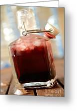 Juice Of Cherries Greeting Card