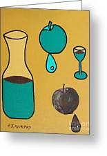 Juice Greeting Card