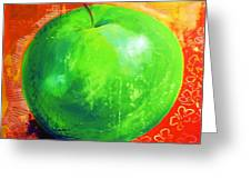 Juicy Green Greeting Card