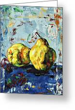 Juicy Quinces Greeting Card