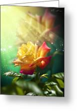Juicy Rose Greeting Card by Svetlana Sewell