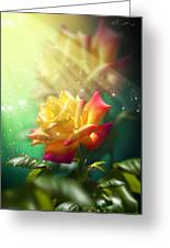 Juicy Rose Greeting Card by Svetlana Sewell