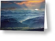 Julian Alps Greeting Card