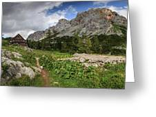 Julian Alps Greeting Card