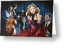 Julie London - Cry Me A River Greeting Card