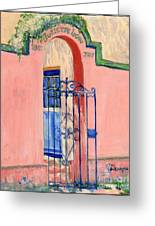 Juliette Low Garden Gate Savannah Greeting Card