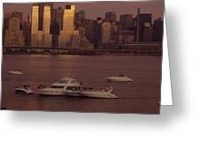 July 4th On The Hudson Greeting Card