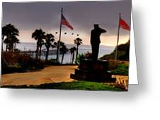 July 4th San Clemente Flyover Greeting Card