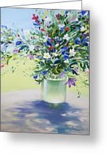 July Buquet Greeting Card