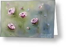 July Roses Greeting Card
