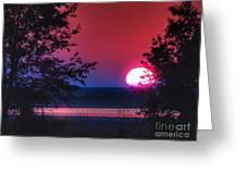 July Sunrise 1 Greeting Card