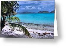 Jumbie Beach-st. John Greeting Card