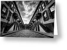 Jumel Terrace Historic District, Upper West Side New York Greeting Card