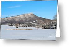 Jump Mountain Greeting Card