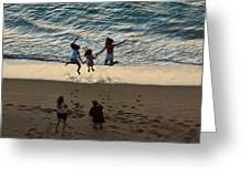 Jumping For Joy Greeting Card