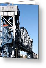 Junction Bridge Greeting Card