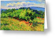 June Orchard Greeting Card