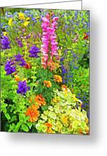 Juneau Has Flowers Greeting Card