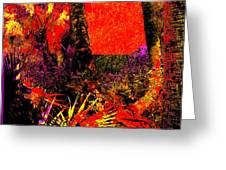 Jungle At The Corner Of Concha And Laconia Greeting Card by Eikoni Images