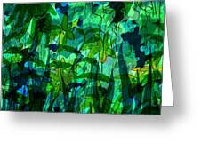 Jungle Colors Greeting Card