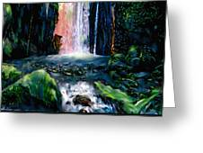 Jungle Pool Greeting Card