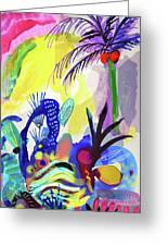 Jungle Vision Greeting Card