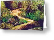 Jungle Walk Greeting Card