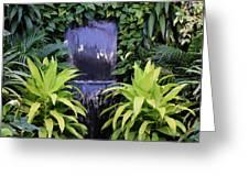 Jungle Waterfall Greeting Card
