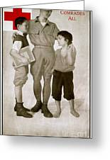 Junior Red Cross Poster Greeting Card