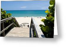 Juno Beach Florida Greeting Card