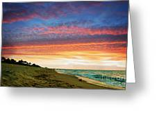 Juno Beach Florida Sunrise Seascape D7 Greeting Card
