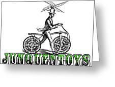 Junquentoys Bike-o-vator Greeting Card