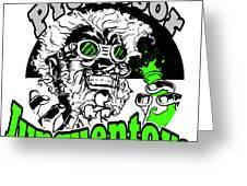 Junquentoys Circular Logo Greeting Card