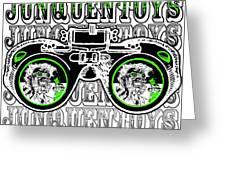 Junquentoys Goggle Fader Fashion Greeting Card