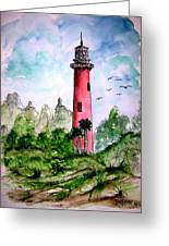 Jupiter Florida Lighthouse Greeting Card