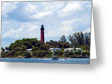 Jupiter Inlet Florida Greeting Card