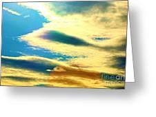Jupiter Rising Greeting Card