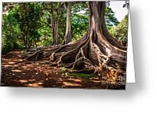 Jurassic Park Tree Group Greeting Card