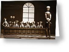 Jury Of Your Peers Greeting Card