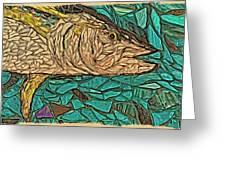 Just A Fish Greeting Card