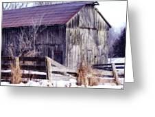 Just A Little Tlc Barn Greeting Card