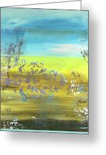 Just Another Damask In Paradise Greeting Card