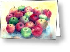 Just Apples Greeting Card