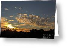 Just Before Sunset Greeting Card