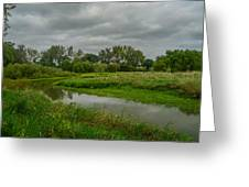 Just Before The Rain Greeting Card