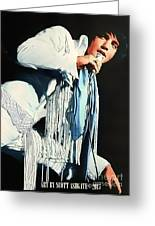 Just Elvis Greeting Card