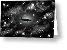Just For Fun Through The Stars Greeting Card